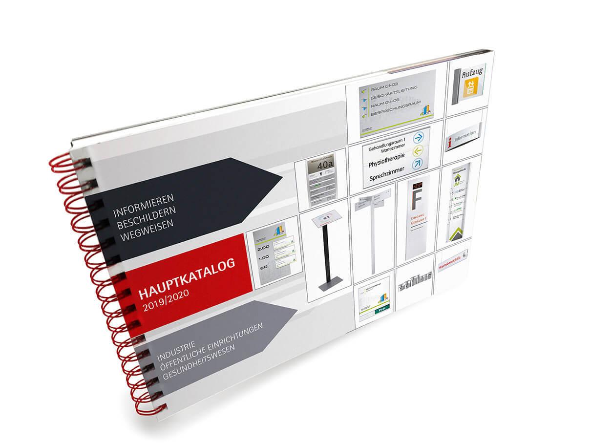 Kostenloser Katalog Leitsysteme Hauptkatalog 2019/2020